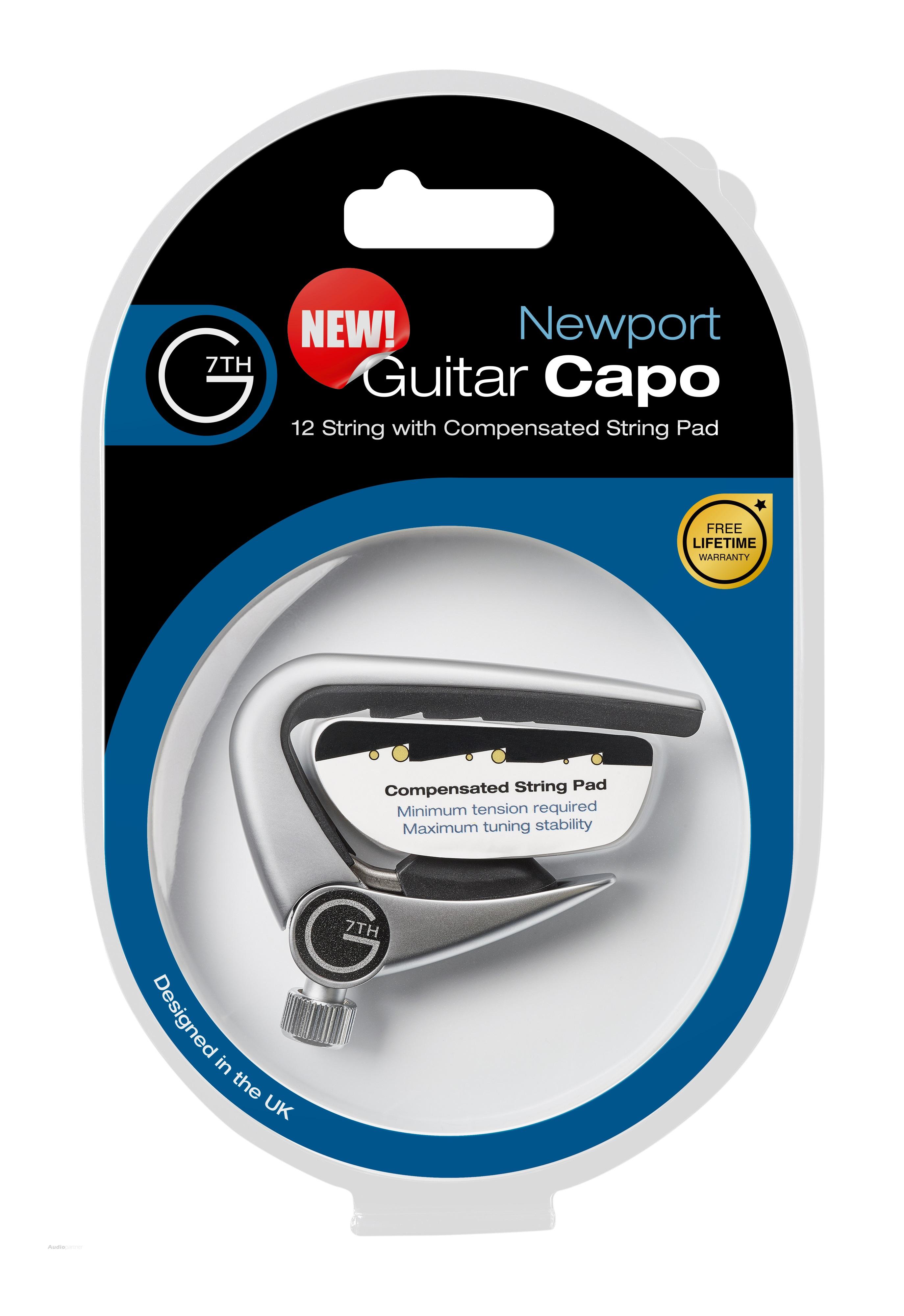 G7TH Newport 12-String Silver