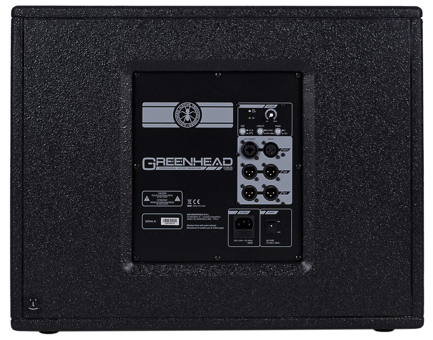 Ant Greenhead 15s Aktiver Subwoofer