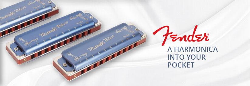 Fender harmoniky