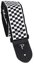 PERRI'S LEATHERS 6547 Jacquard Black And White Checker