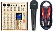 PHONIC AM6GE + Cable + Microphone FREE