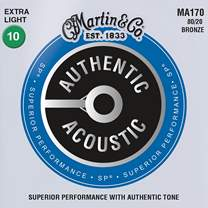 MARTIN Authentic SP 80/20 Bronze Extra Light