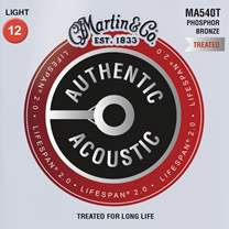 MARTIN Authentic Lifespan 2.0 92/8 Phosphor Bronze Light