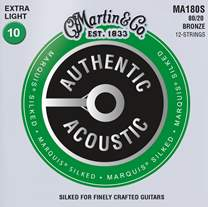 MARTIN Authentic Marquis 80/20 Bronze 12-String Extra Light