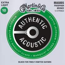 MARTIN Authentic Marquis 92/8 Phosphor Bronze 12-String Extra Light