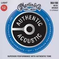MARTIN Authentic SP 80/20 Bronze 12-String Light
