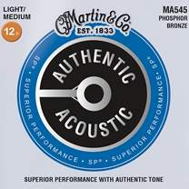 MARTIN Authentic SP 92/8 Phosphor Bronze Light/Medium