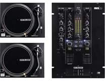2x RP-1000 MK2 + DJ Mixer