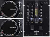 2x RP-2000 MK2 + DJ Mixer