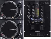 2x RP-4000 MK2 + DJ Mixer