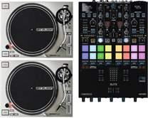 2x RP-7000 MK2 Silver + DJ Mixer