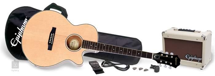 epiphone player pack pr4e na guitar set. Black Bedroom Furniture Sets. Home Design Ideas