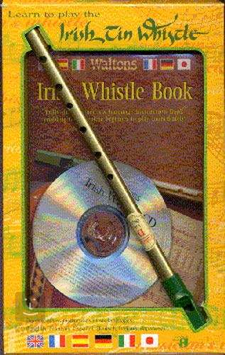 Learn To Play The Irish Tin Whistle Instrument with Music Book