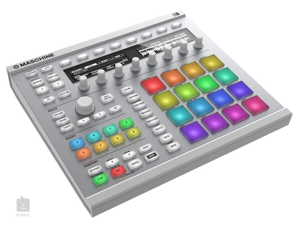 NATIVE INSTRUMENTS Maschine MK2 WH MIDI Controller, Groove Software