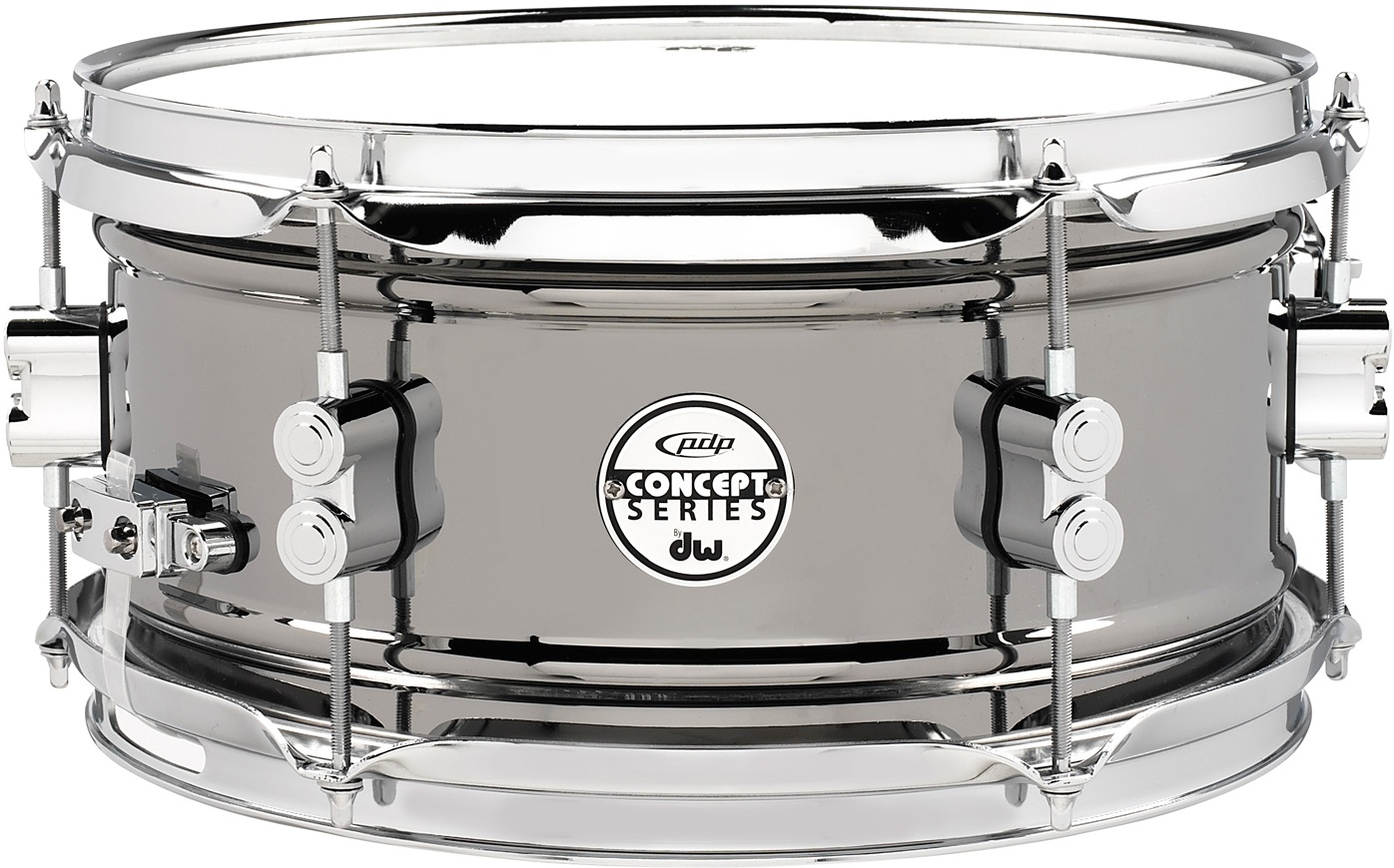 """PDP 12""""x6"""" Concept Black Nickel snare"""
