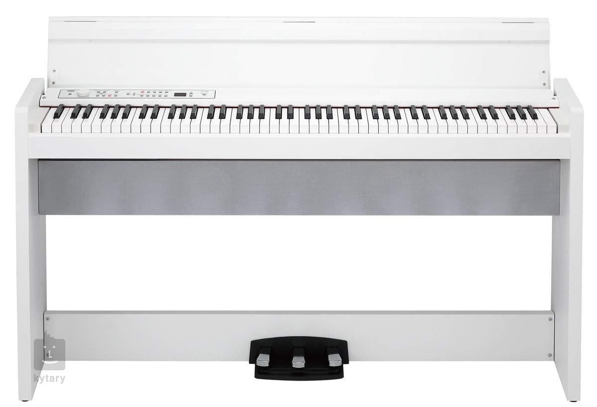 korg lp 380 wh digital piano. Black Bedroom Furniture Sets. Home Design Ideas