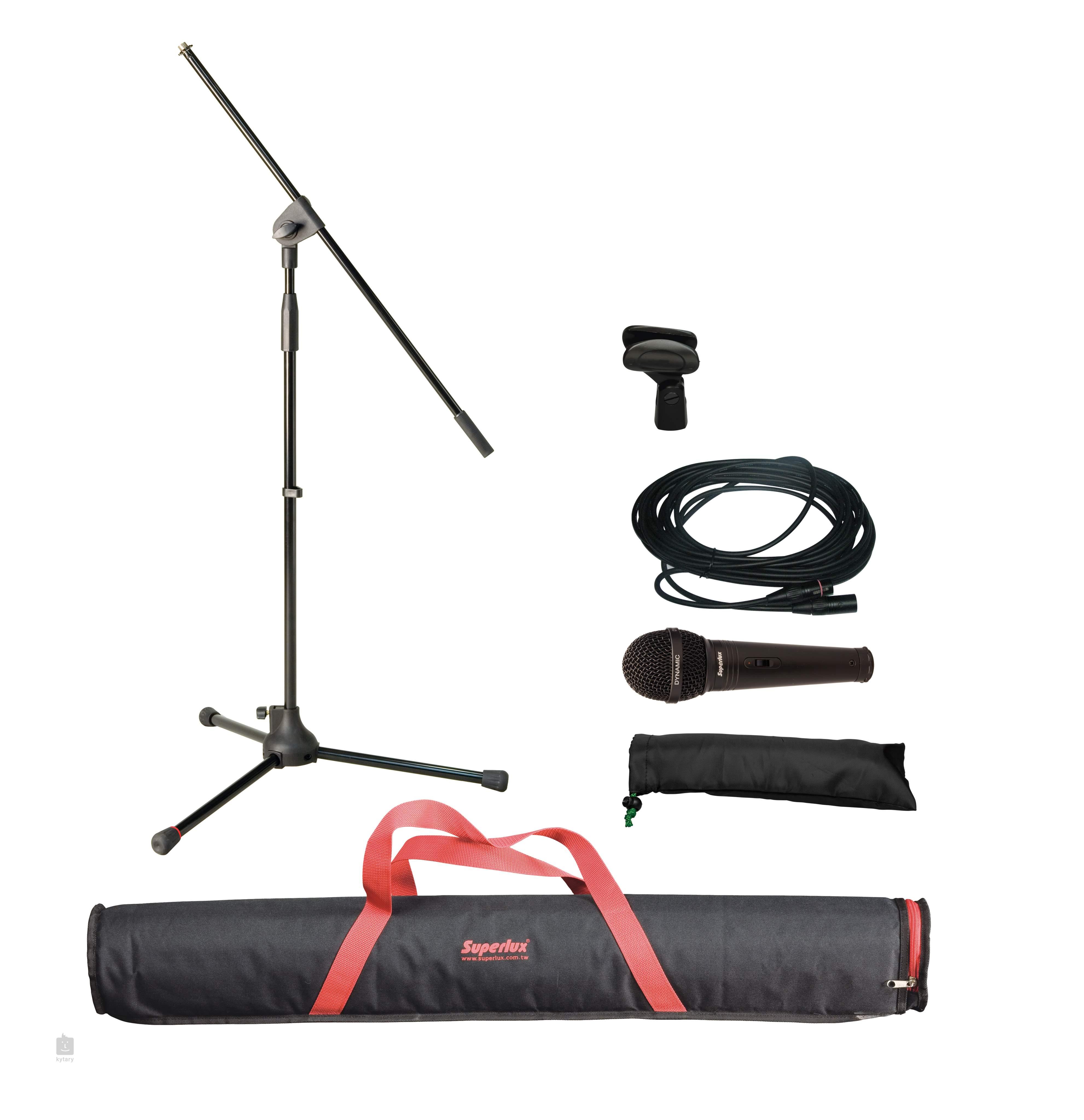 superlux gl 100 dynamic microphone set. Black Bedroom Furniture Sets. Home Design Ideas