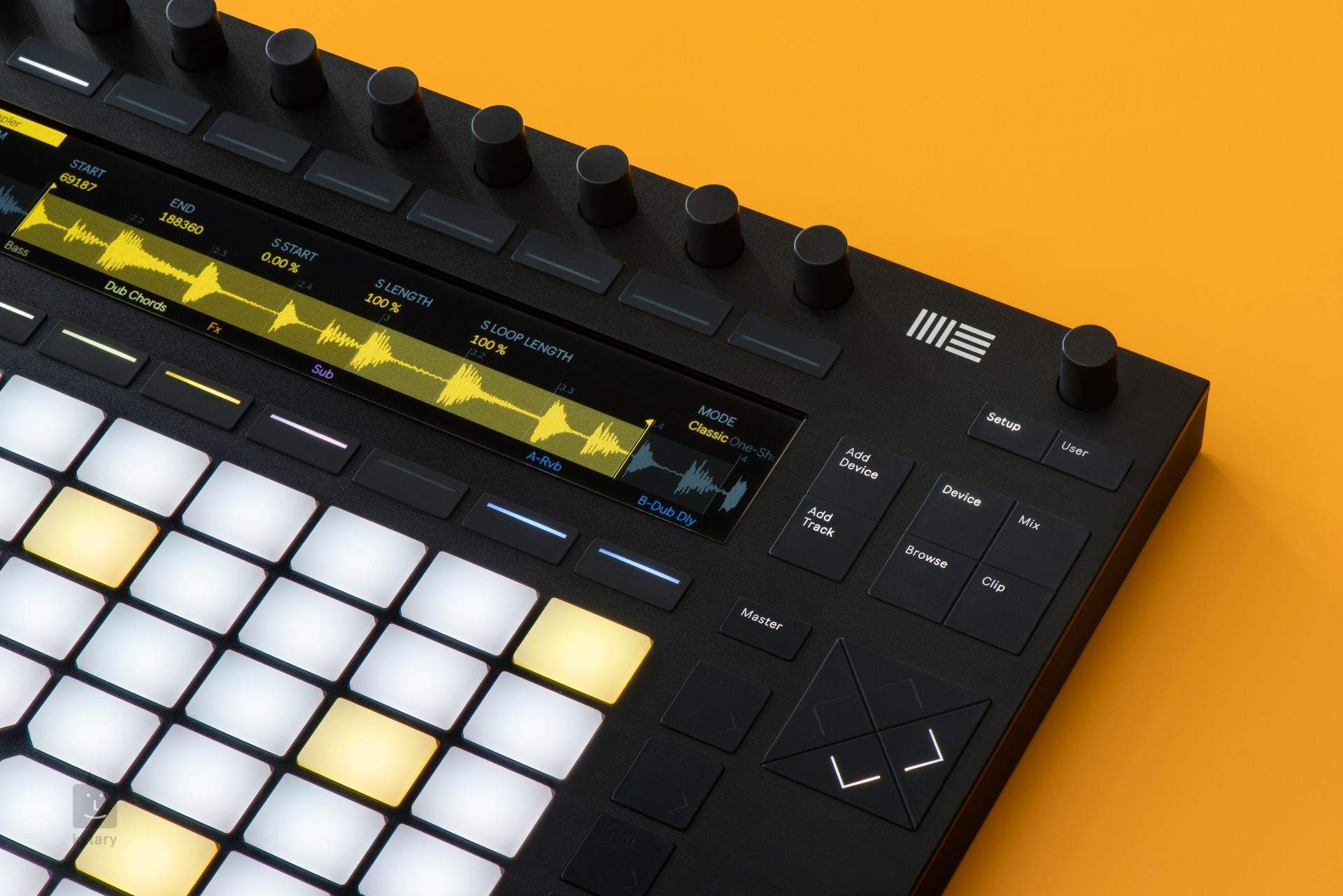 Ableton Push 2 Opened Midi Controller Groove Software