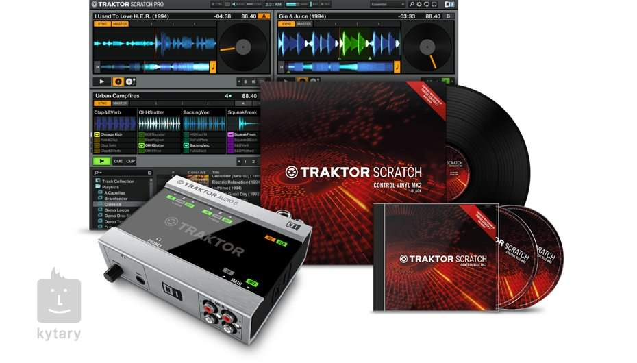 NATIVE INSTRUMENTS Traktor Scratch A6 USB Sound Card