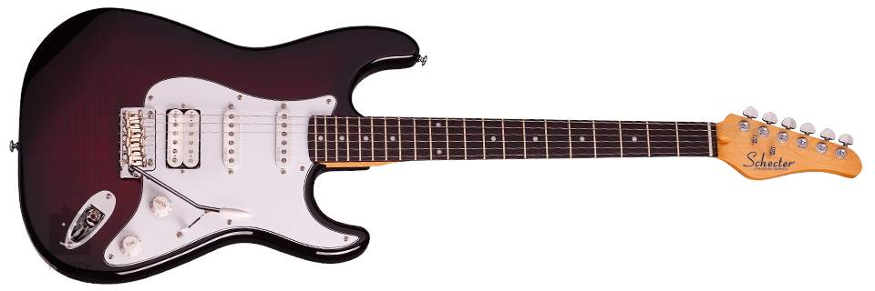 M And R Electric >> Schecter Traditional Custom M R Bchb