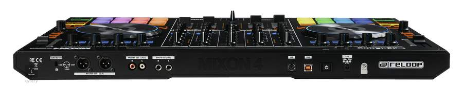reloop mixon 4 dj controller with sound card. Black Bedroom Furniture Sets. Home Design Ideas