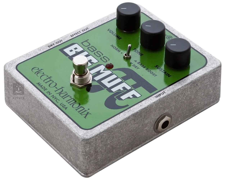 Electro Harmonix Bass Big Muff Pi Guitar Effects Effect