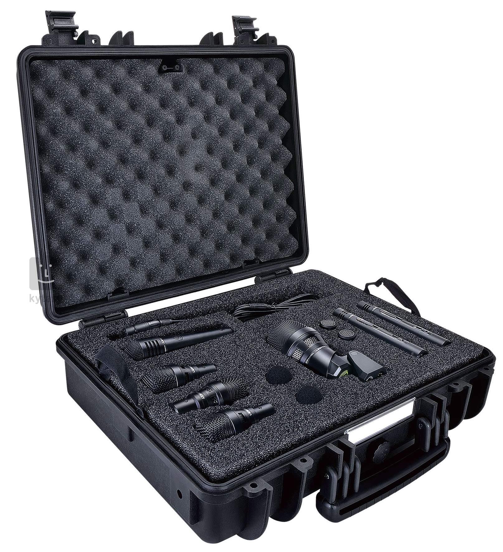 64e45c5e673 LEWITT DTP Beat Kit Pro 7 cardioid only Drum Microphone Set