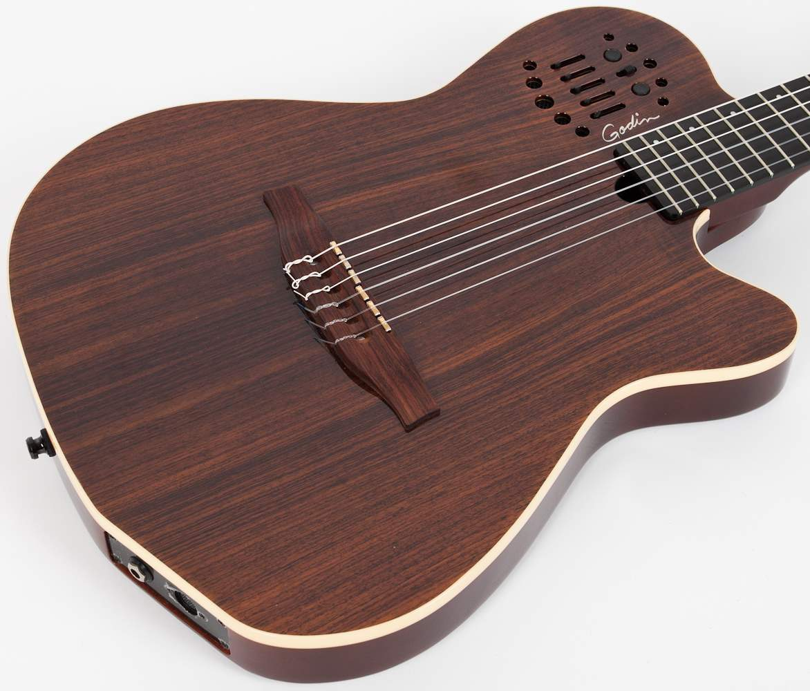 GODIN Multiac ACS-SA Nylon Rosewood HG (poškozené) Electro-Acoustic Midi  Guitar