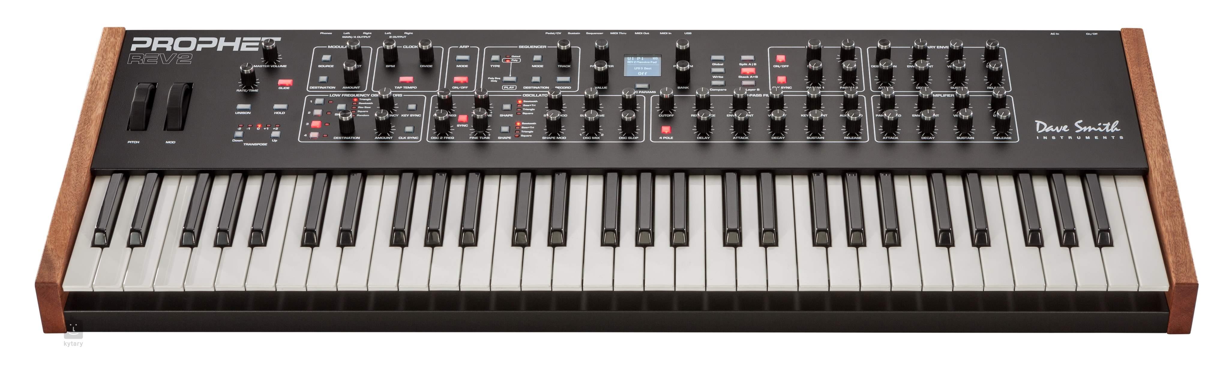 dave smith instruments prophet rev2 8 synthesizer. Black Bedroom Furniture Sets. Home Design Ideas