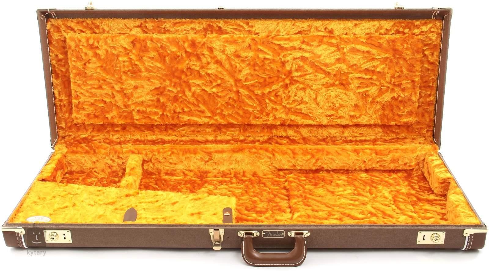 5441ca3ce44 FENDER G&G Deluxe Hardshell Case Brown - Stratocaster/Telecaster Electric  Guitar Hard Case