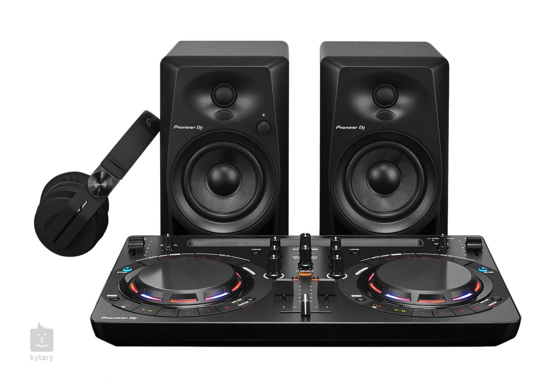 pioneer dj dj starter pack dj set. Black Bedroom Furniture Sets. Home Design Ideas