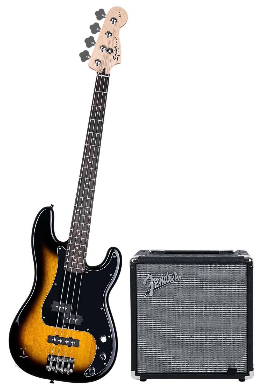 Fender Squier Affinity Series U2122 Precision Bass U00ae Pj Bsb Pack