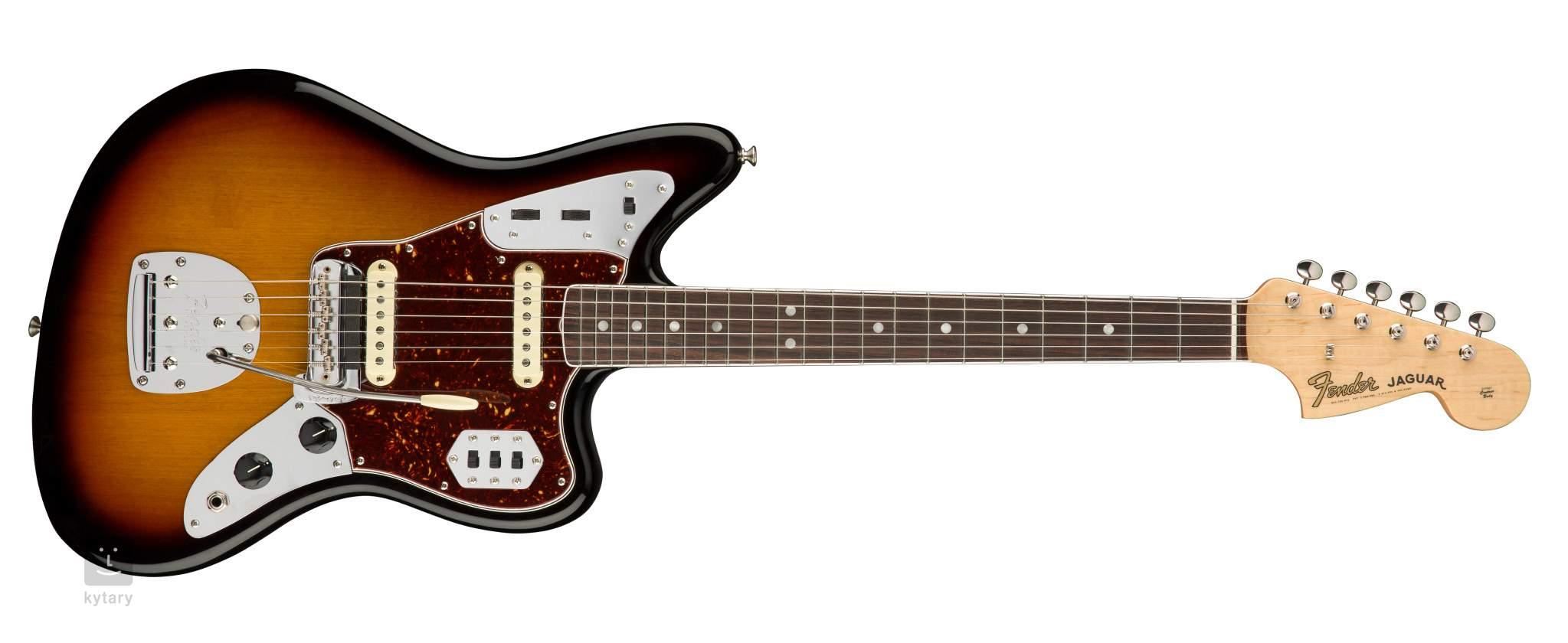 fender american original 60s jaguar rw 3tsb electric guitar. Black Bedroom Furniture Sets. Home Design Ideas