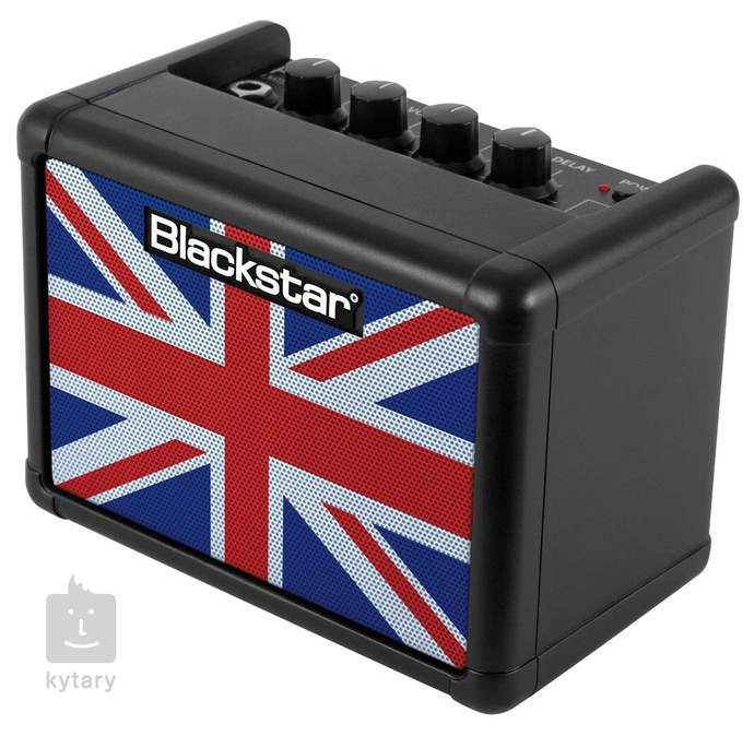 BLACKSTAR FLY 3 Mini Amp Black Union Jack Limited Edition
