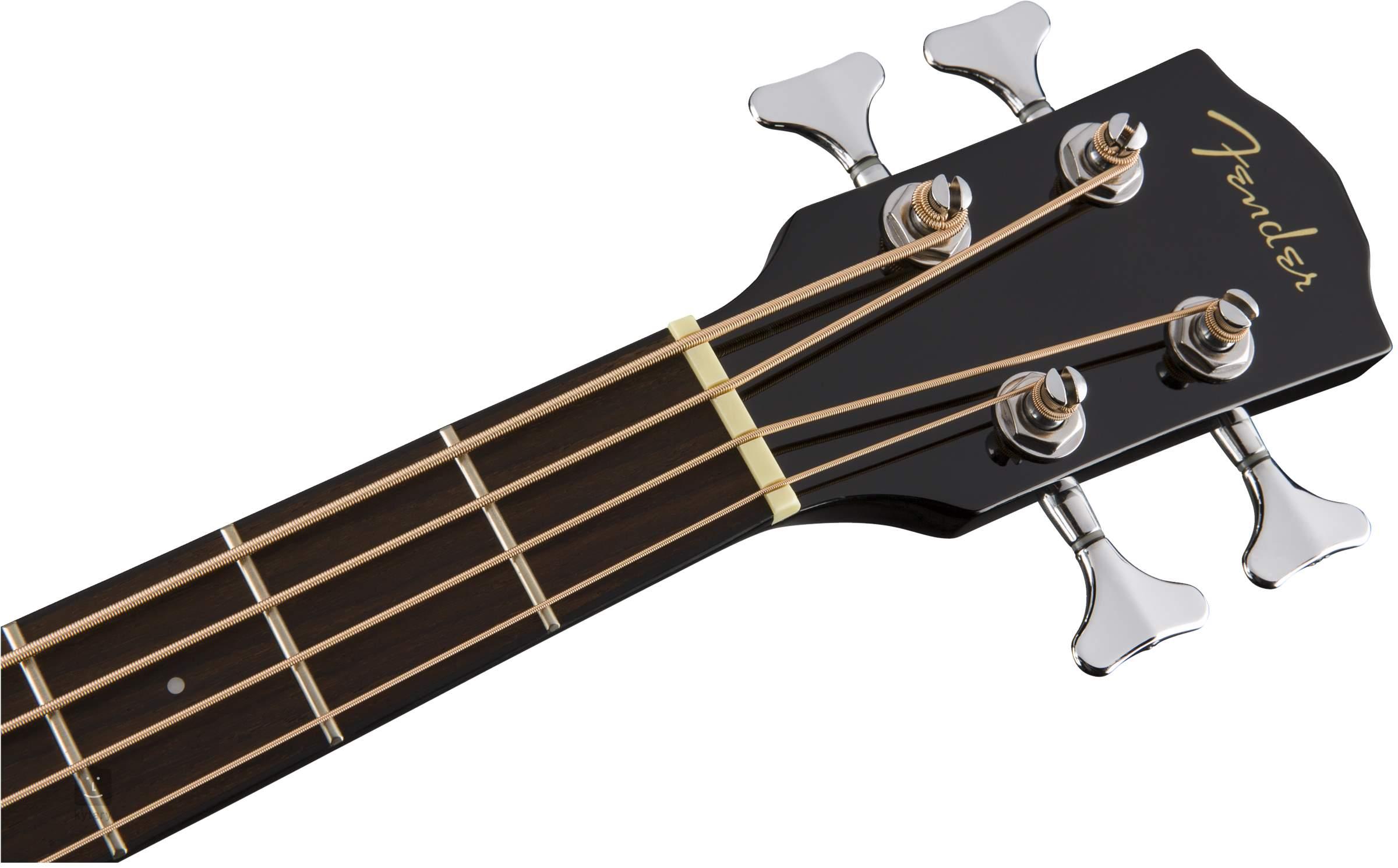 Fender Cb 60ce Blk Electro Acoustic Bass Guitar