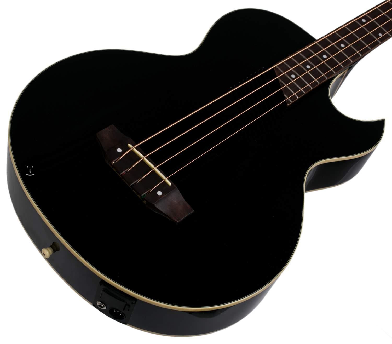 Washburn Ab10b Electro Acoustic Bass Guitar