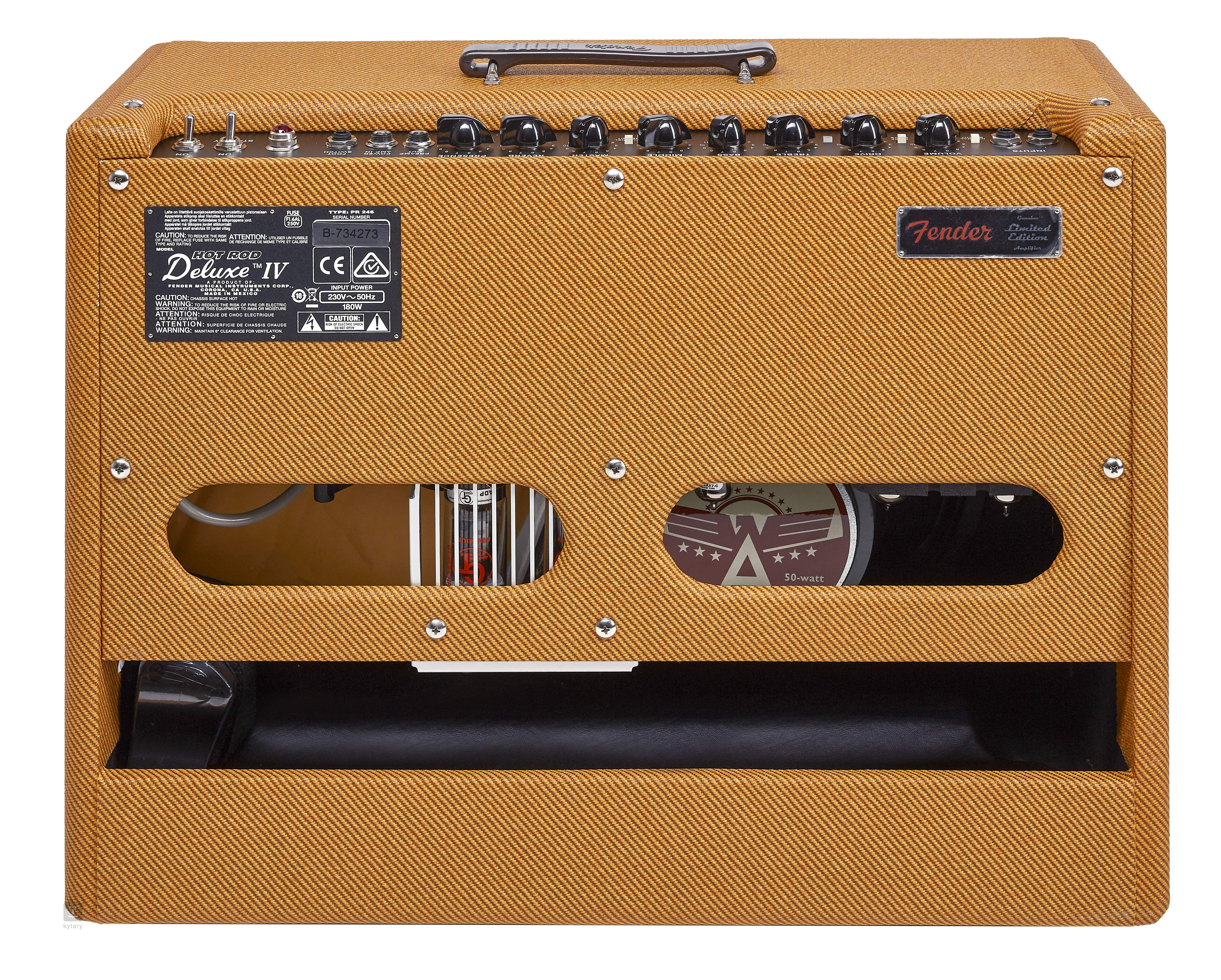 Fender 2018 Ltd Hot Rod Deluxe Iv Cans