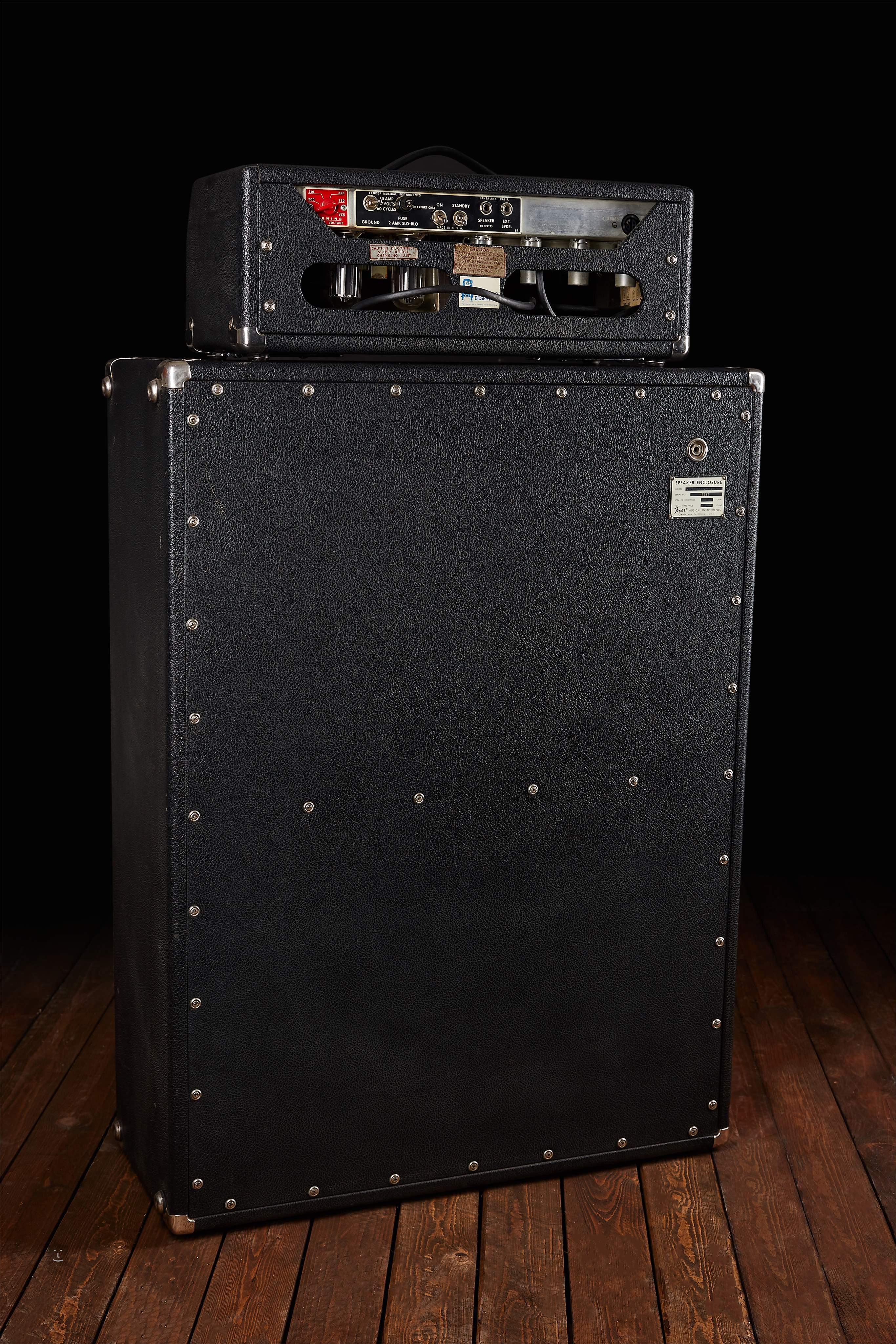 FENDER 1969 Bassman Export Amp + 2x15