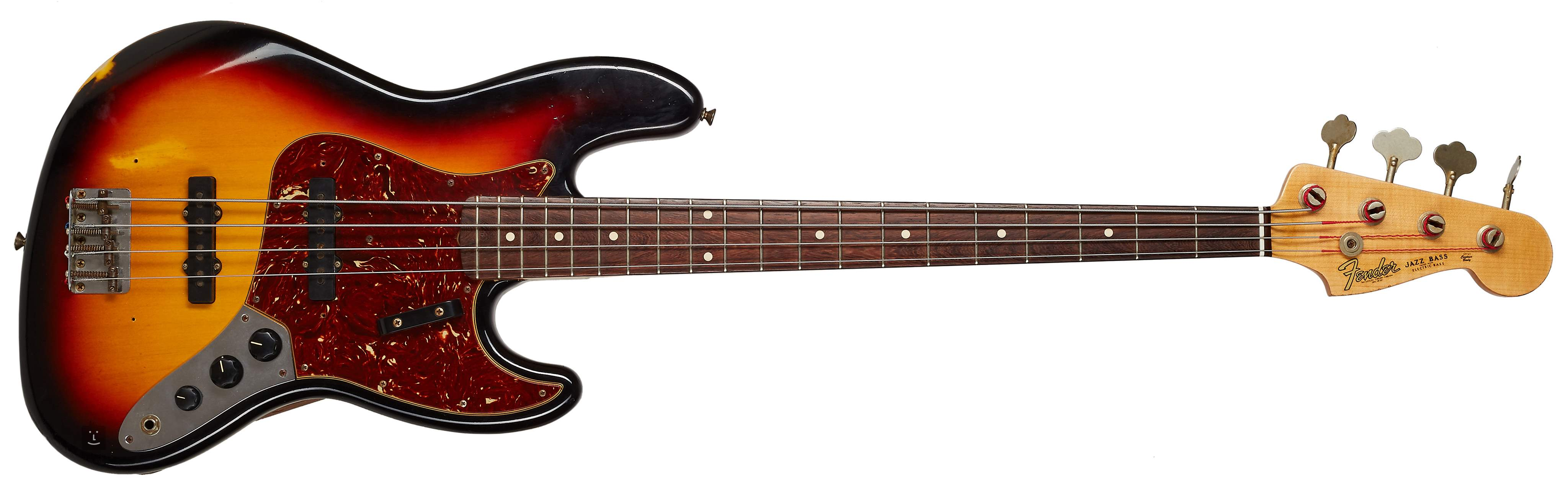 Kytary co uk - FENDER 2011 Custom Shop ´64 Jazz Bass Time Machine Series  Mint! Electric Bass Guitar