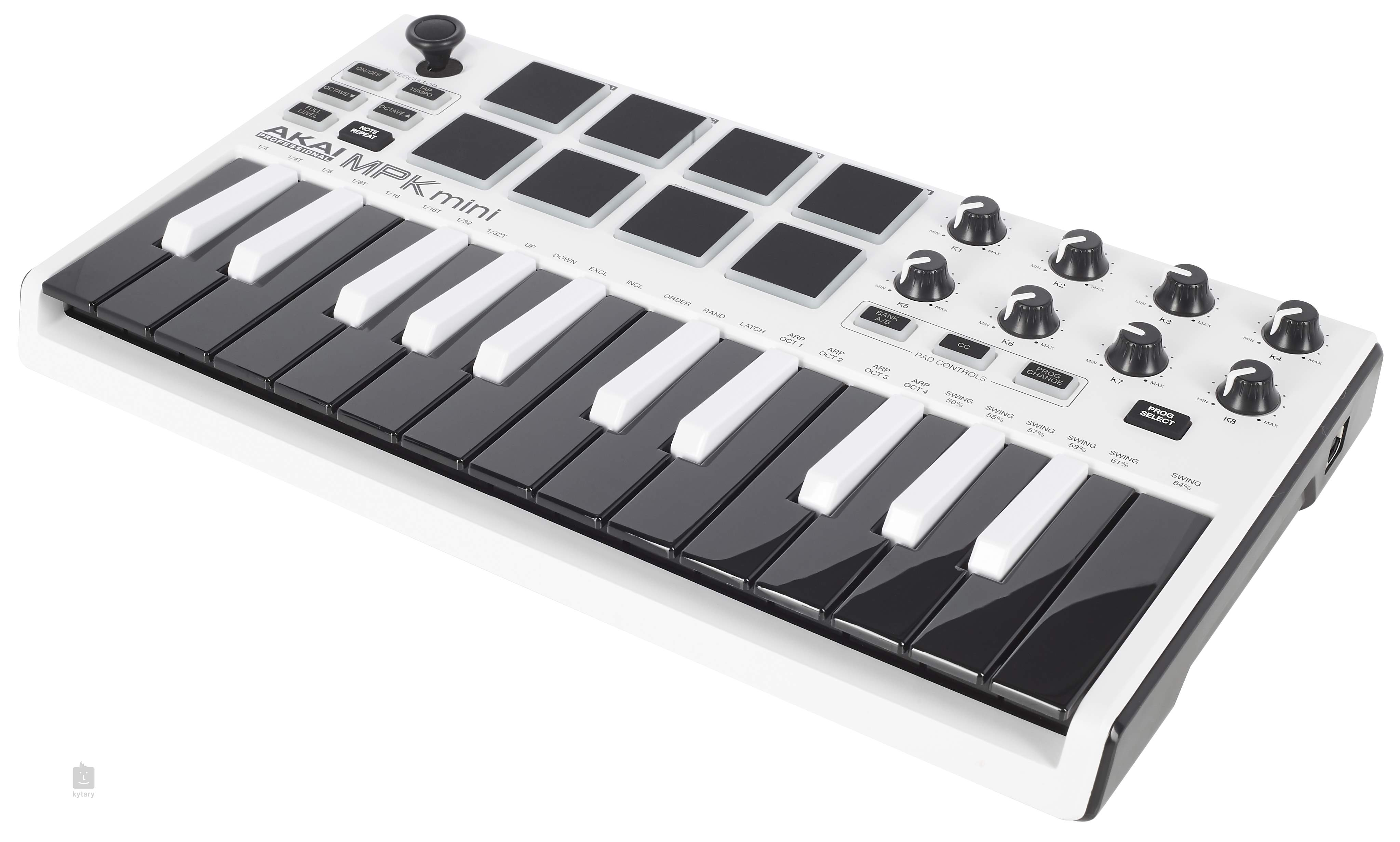 AKAI MPK Mini mkII White ltd. edition USB/MIDI Keyboard