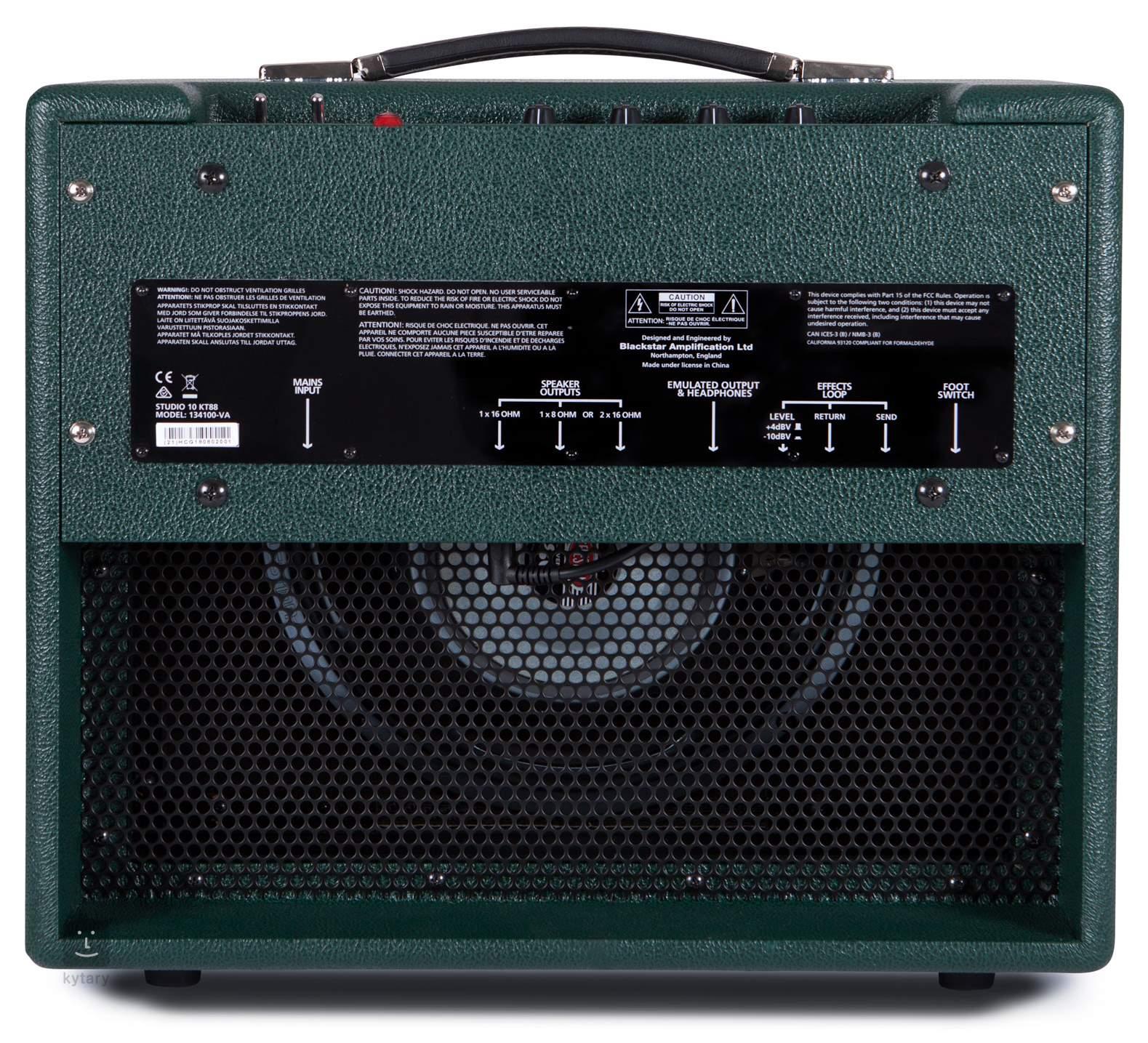 BLACKSTAR Studio 10 KT88 Tube Guitar Combo