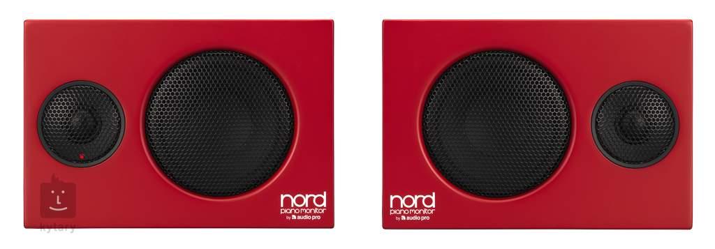 nord piano monitor powered studio monitors. Black Bedroom Furniture Sets. Home Design Ideas
