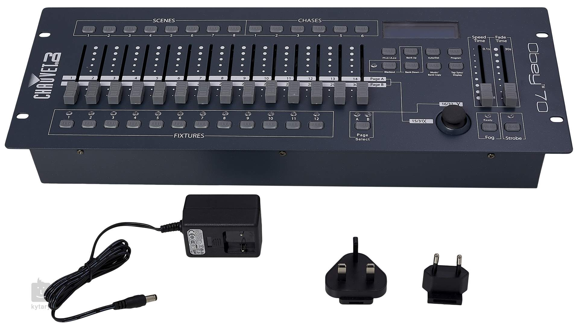 chauvet obey 70 dmx controller. Black Bedroom Furniture Sets. Home Design Ideas