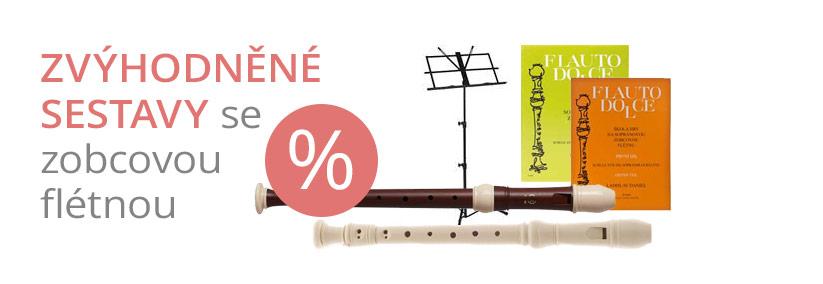 Zvýhodněné sestavy flétny