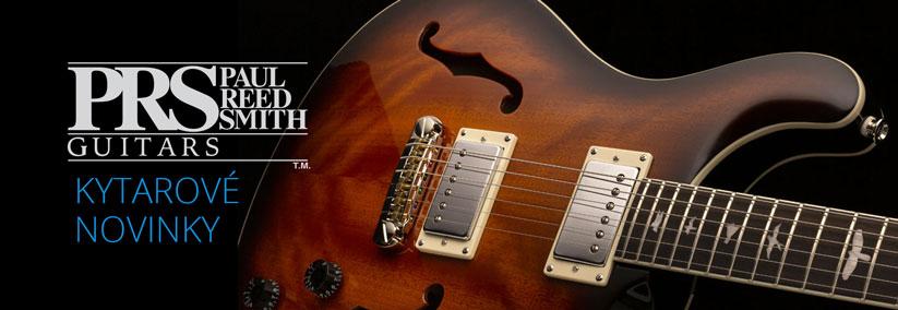 PRS kytary-novinky