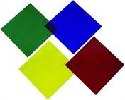 SET 4ks barevné filtry PAR64