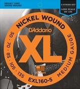 D'ADDARIO EXL160-5