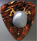 Celluloid Guitar Plectrum Mouse Mat