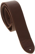 "FENDER 2"" Custom HQ Leather Strap, Brown"