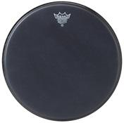 """REMO 14"""" Ambassador Black Suede Snare Side"""
